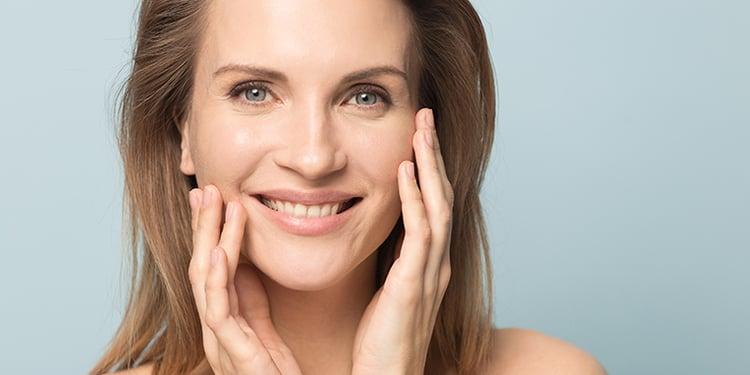 Risultato della medicina estetica in viso